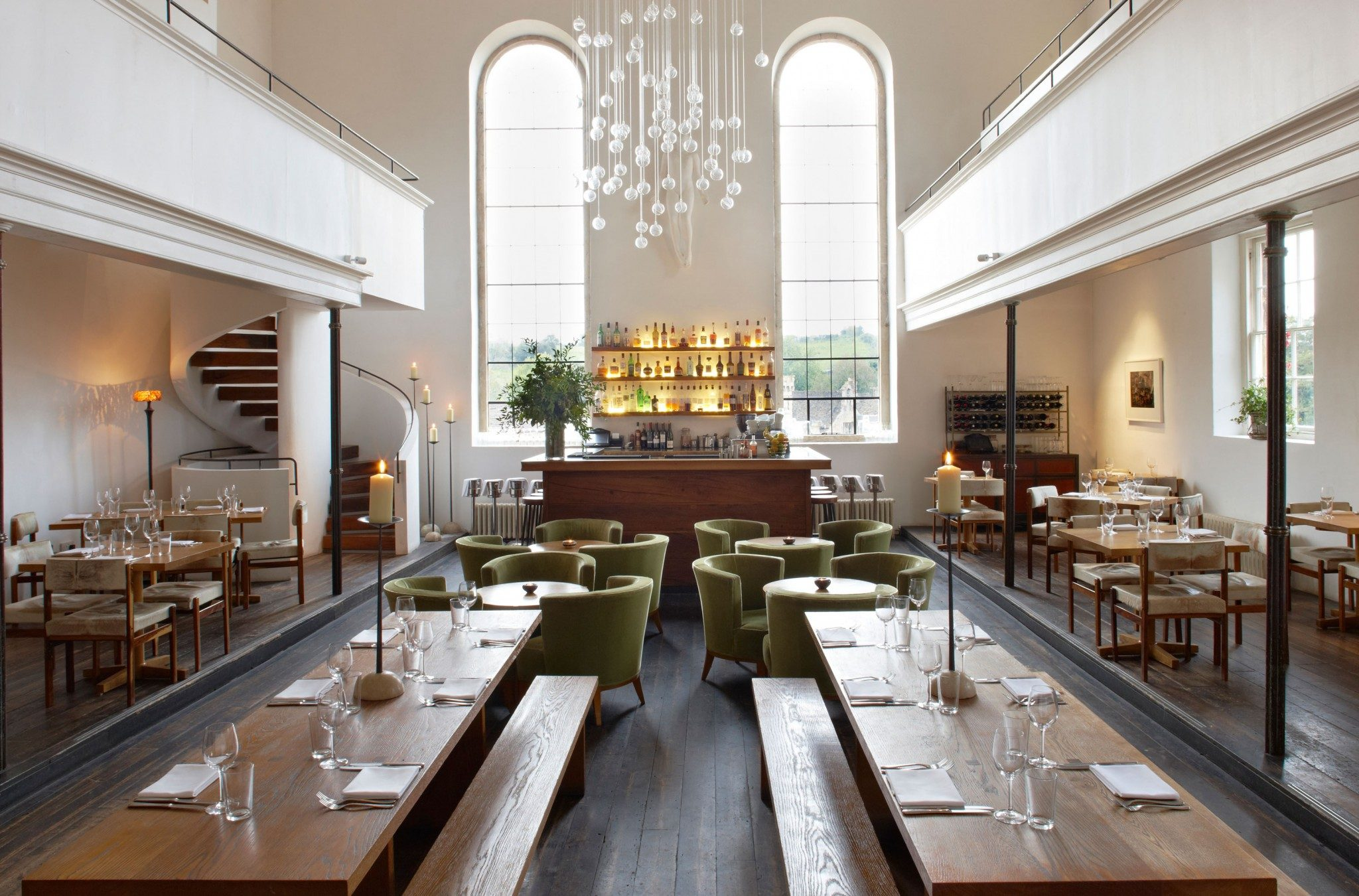 mackenzie wheeler are listed building church restaurant architects based in shoreditch london specializing in conservation and hospitality