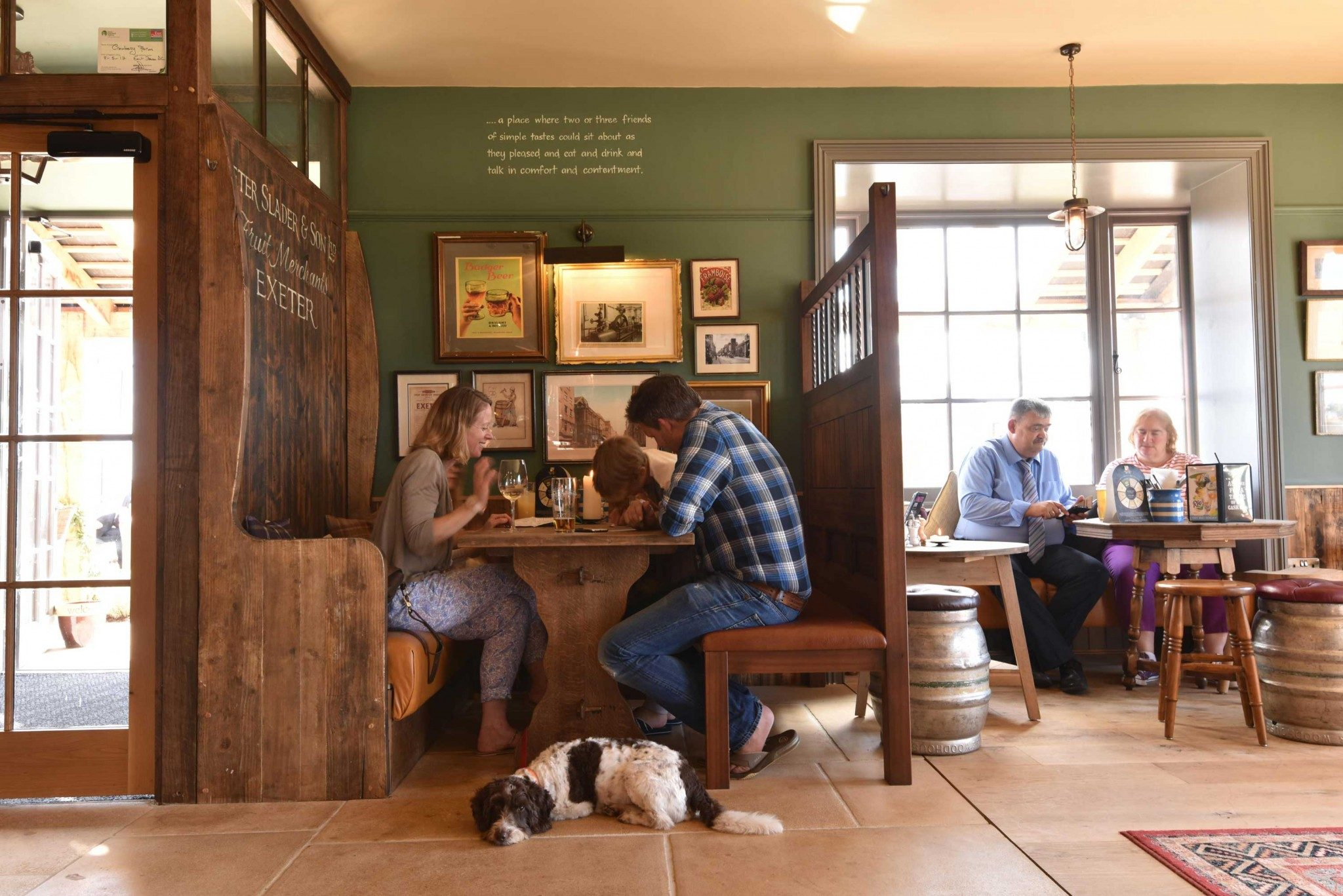 mackenzie wheeler are new build pub architects based in shoreditch london specializing in barn restaurant spaces
