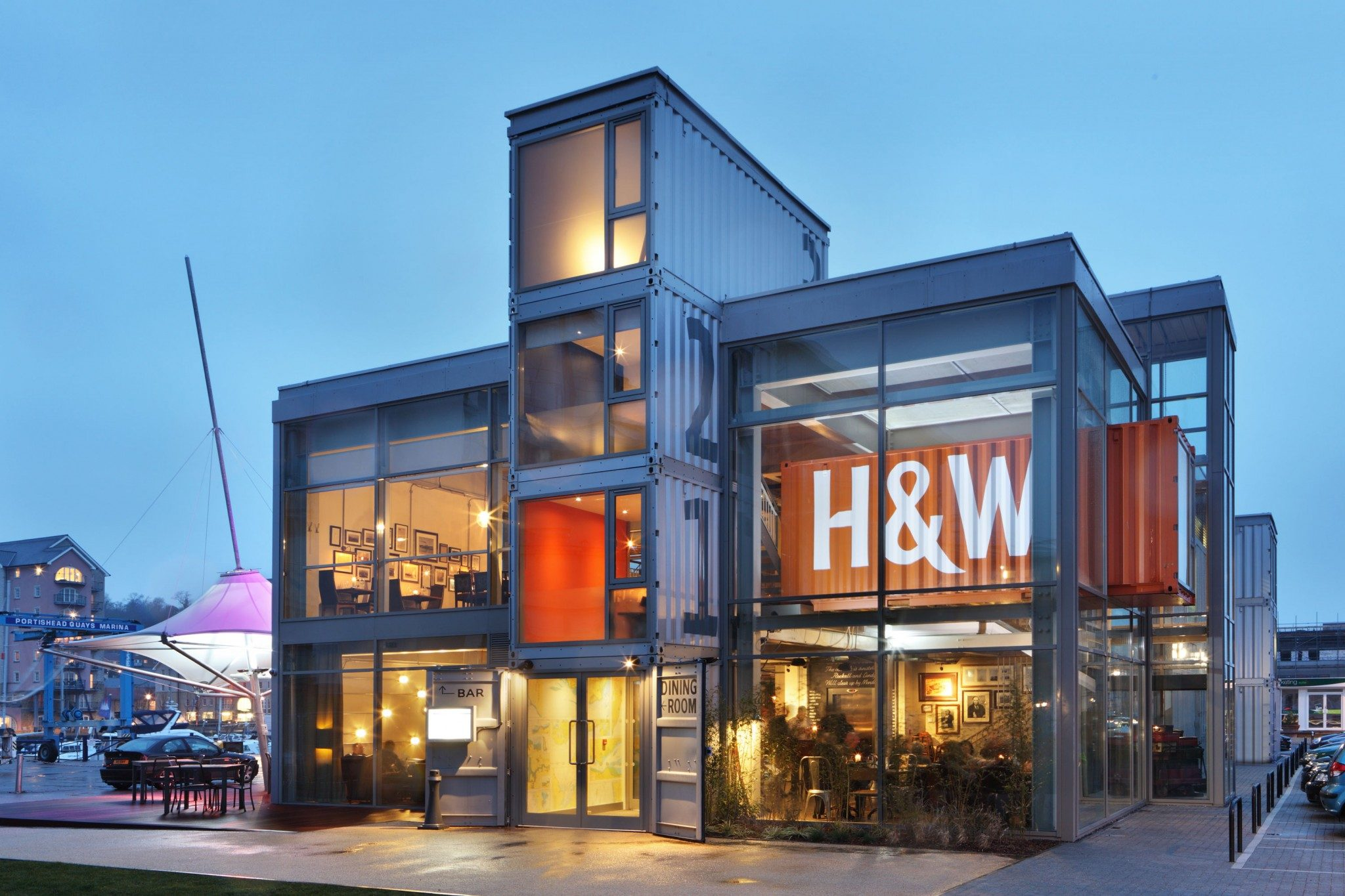 mackenzie wheeler are award winning new build pub and shipping container architects in shoreditch london