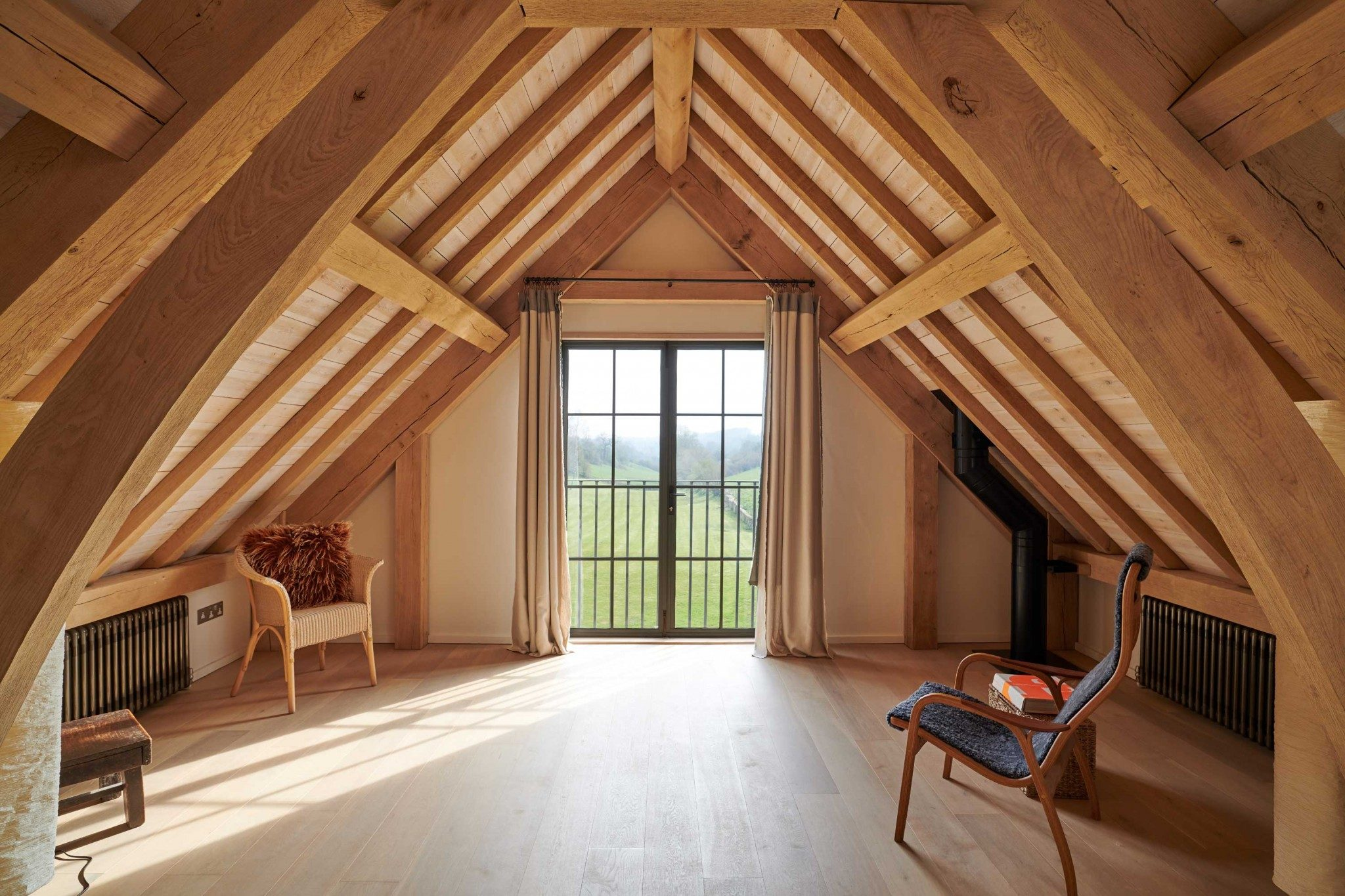 mackenzie wheeler are listed building residential architects based in shoreditch london specializing in oak frame houses