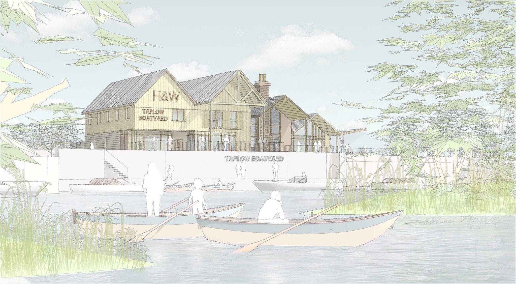 mackenzie wheeler are london based newbuild pub architects and interior designers specializing in riverside pub design